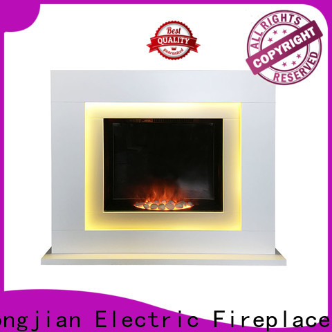 Longjian direct freestanding electric fire suite for-sale for bathroom