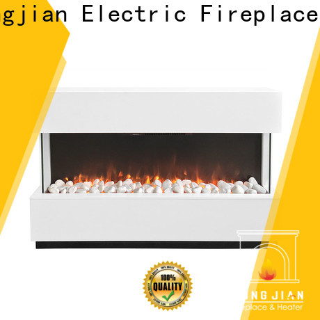 Longjian corner Electric Fireplace Suites sensing for hall way