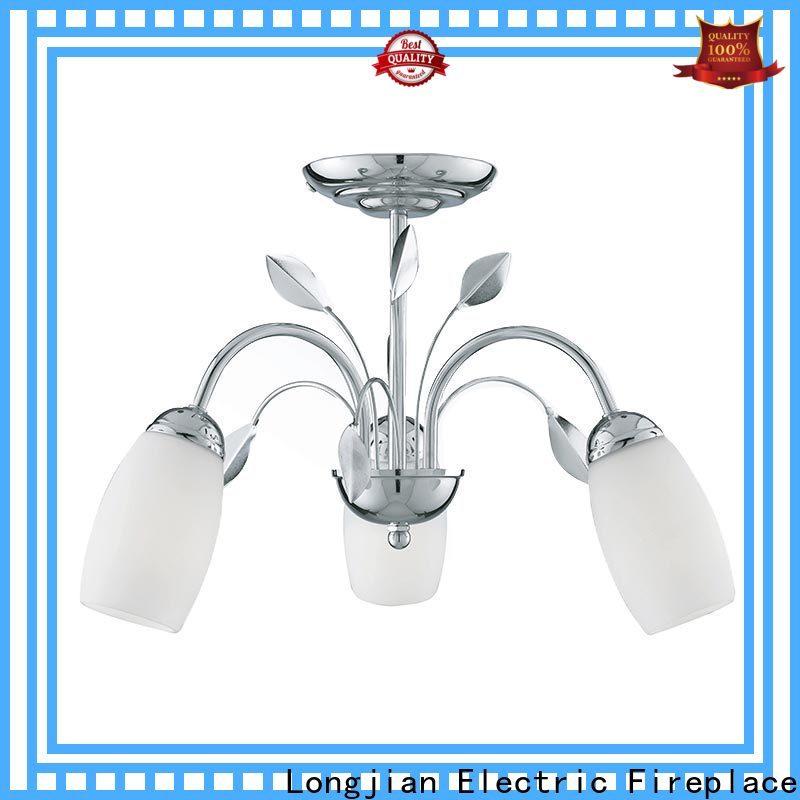 Longjian 300mm semi flush mount lighting long-term-use for riverwalk