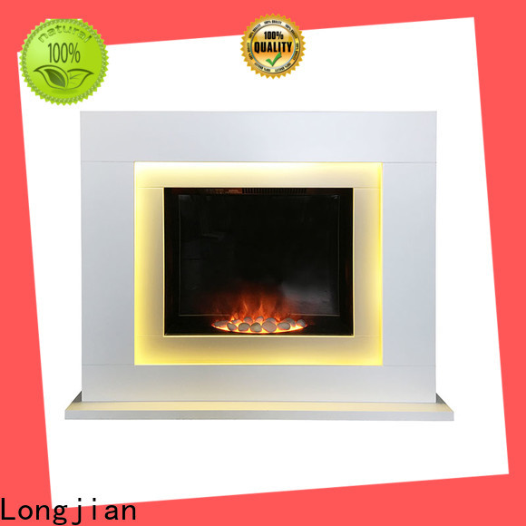 Longjian inexpensive Electric Fireplace Suites long-term-use for balcony
