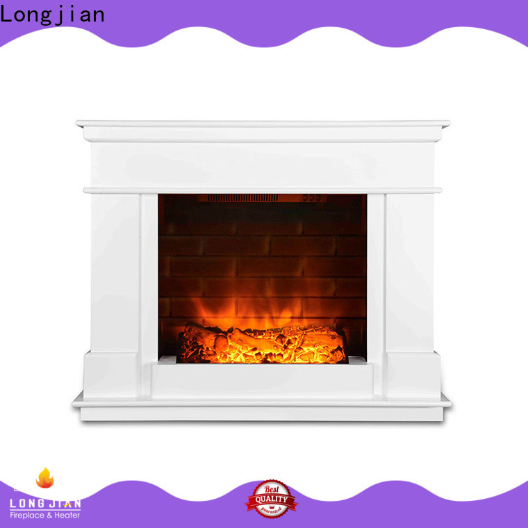 Longjian large freestanding electric fire suite for-sale for kitchen
