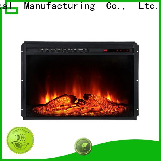 Longjian control insert electric fireplace long-term-use for kitchen