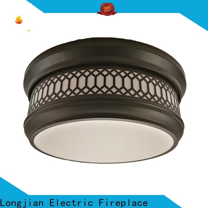 Longjian glass semi flush mount lighting equipment for riverwalk