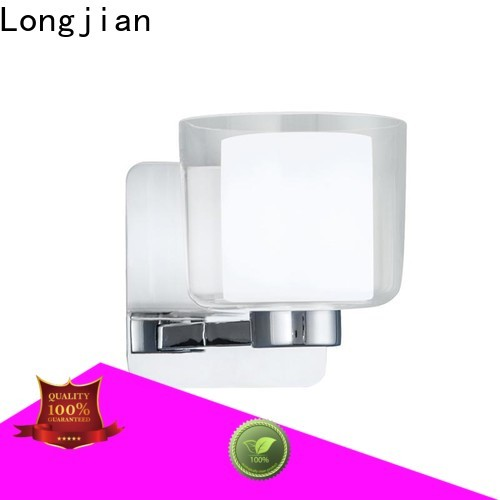 fine- quality led wall lights glass type for toilet