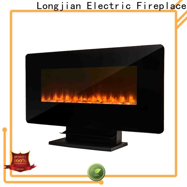 Longjian topgallant modern electric fires wall mounted conjunction for rooftop