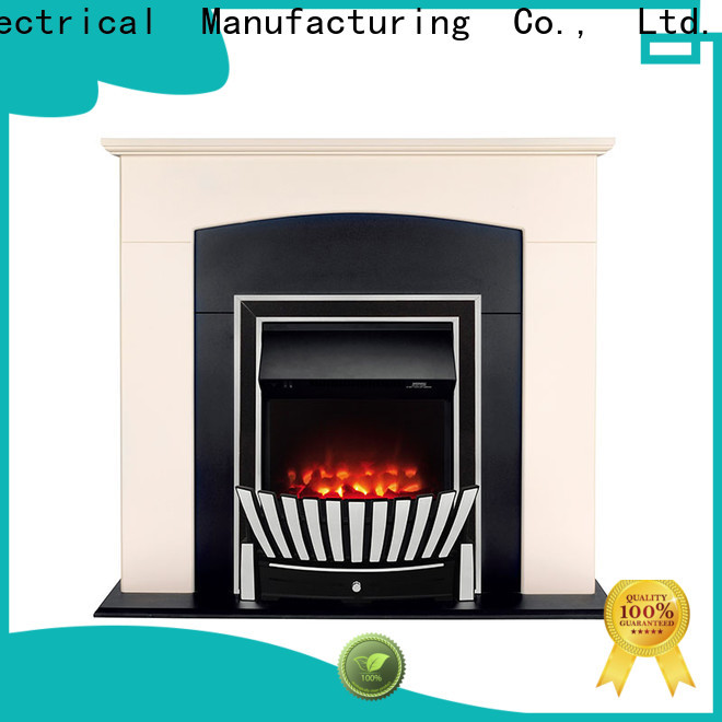 postmodern insert electric fireplace remote China for kitchen