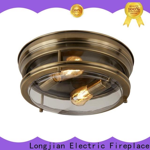 Longjian exquisite semi flush mount ceiling light sensing for arcade