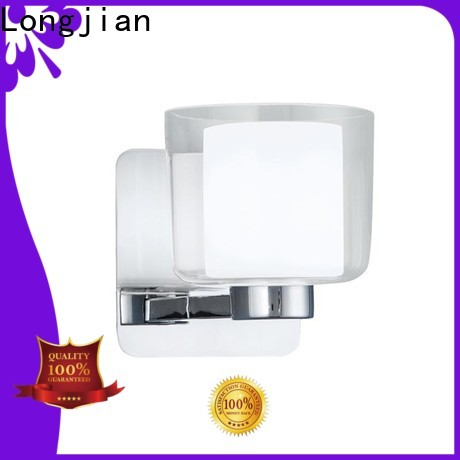 Longjian glass led wall lights widely-use for shorelines