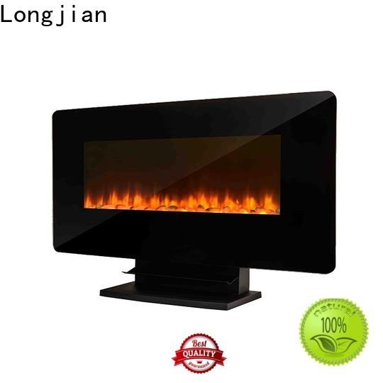 Longjian fireplace wall mount electric fireplace heater conjunction for shorelines