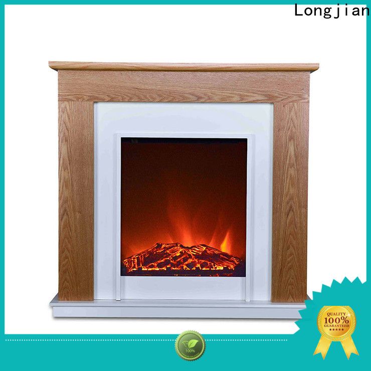 Longjian stoves electric fire suites in-green for hall