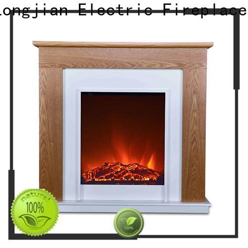 Longjian freestanding electric fireplace suites Application for study
