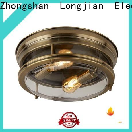 postmodern flush ceiling lights ip44 sensing for bike lane