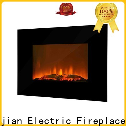Longjian flame modern electric fires wall mounted widely-use for balcony