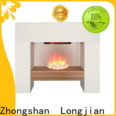 safety electric fireplace suites mantels in-green for hall way
