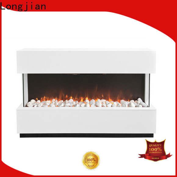Longjian surrounds electric fire suites for-sale for hall way