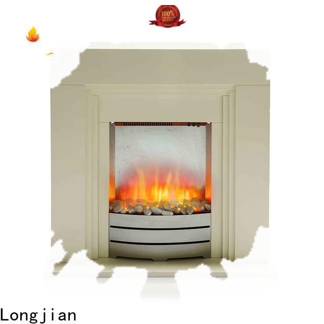 Longjian small modern electric fire suites package for manager room
