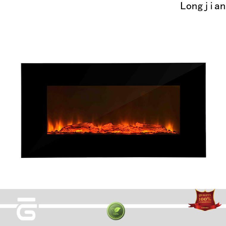 Longjian luxury electric wall fireplace conjunction for toilet