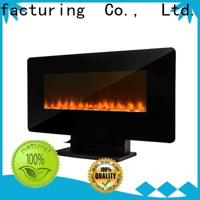 Longjian led Wall Mounted Electric fires containerization for bedroom