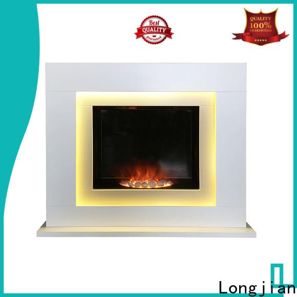 Longjian cabinet fireplace suites China for cellar
