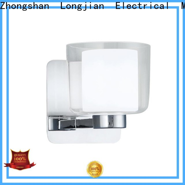 Longjian gradely wall light lamp solutions for bathroom