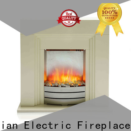 Longjian inexpensive electric fireplace suites freestanding package for study