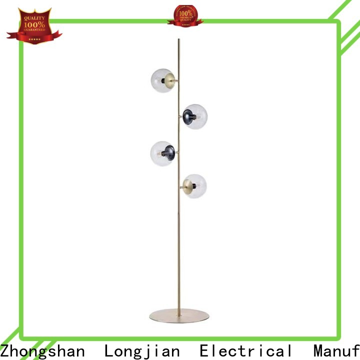 Longjian lamps floor lamp production for bike lane