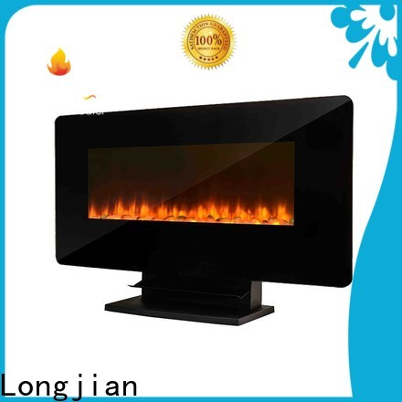 Longjian safety wall mount fireplace heater conjunction for kitchen