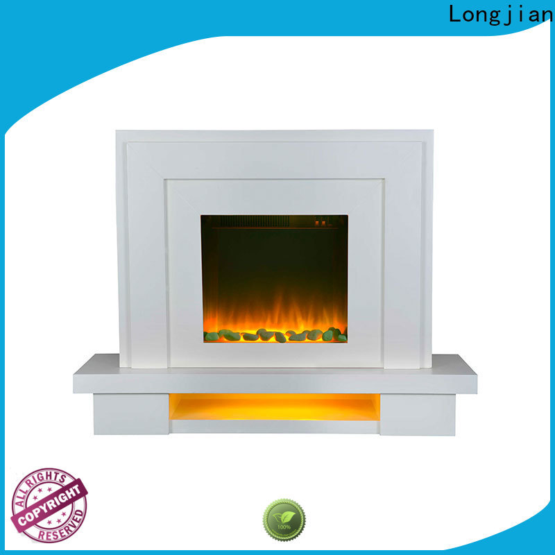 Longjian mantels electric stove fire suites in-green for study