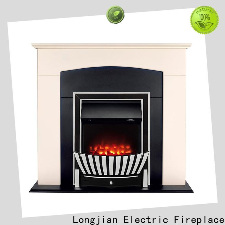 Longjian advanced insert electric fires Application for kitchen