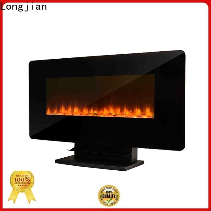 Longjian cut electric wall fireplace anticipation for balcony
