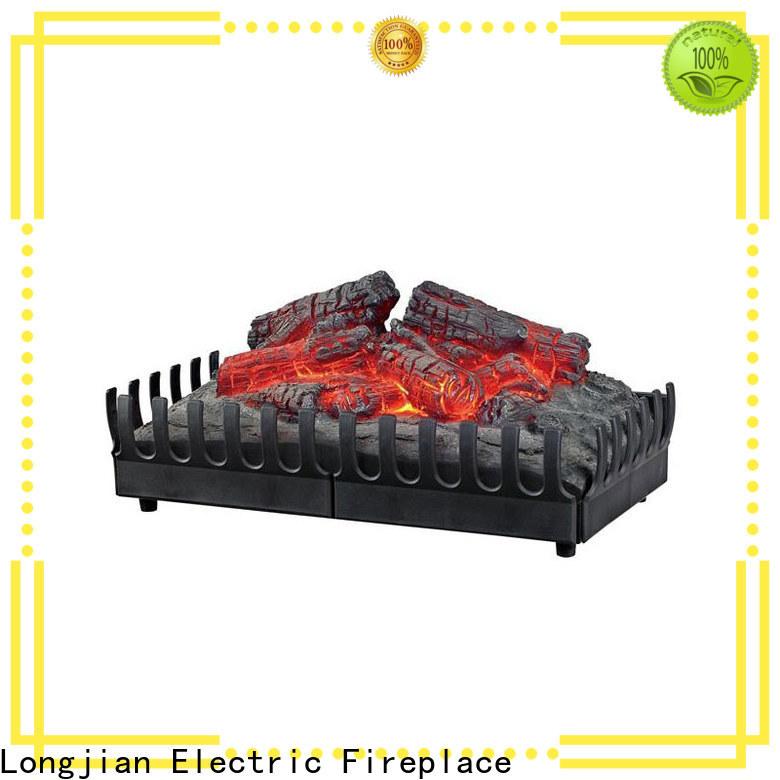 Longjian effect insert fireplace sensing for garden