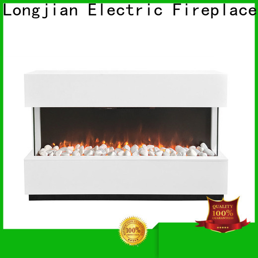 simple-style electric fireplace suites mantel package for manager room