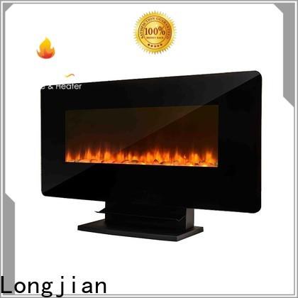 Longjian postmodern wall mounted fireplace type for rooftop