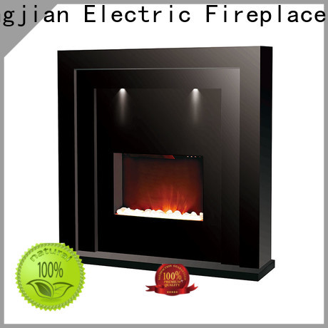 Longjian reasonable freestanding electric fire suite in-green for kitchen
