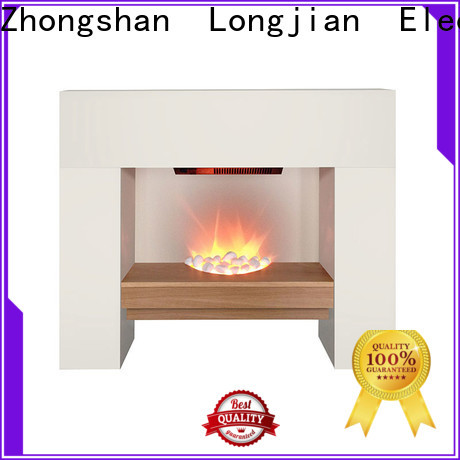 Longjian inexpensive fireplace suites in-green for study