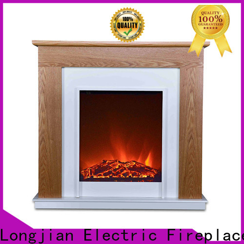 Longjian first-rate freestanding electric fire suite led-lamp for garden