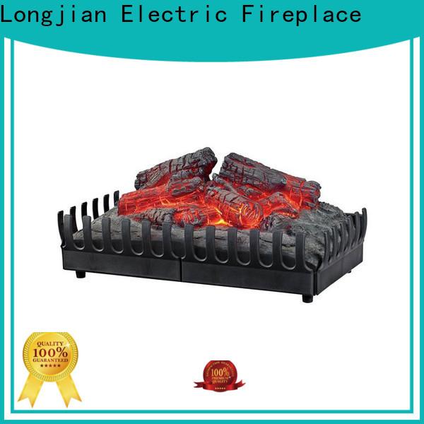 Longjian unique inset electric fires testing for balcony