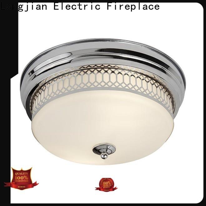 Longjian glass flush mount ceiling light Application for rooftop