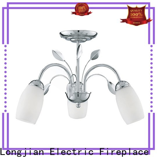 Longjian light semi flush mount lighting package for dining room