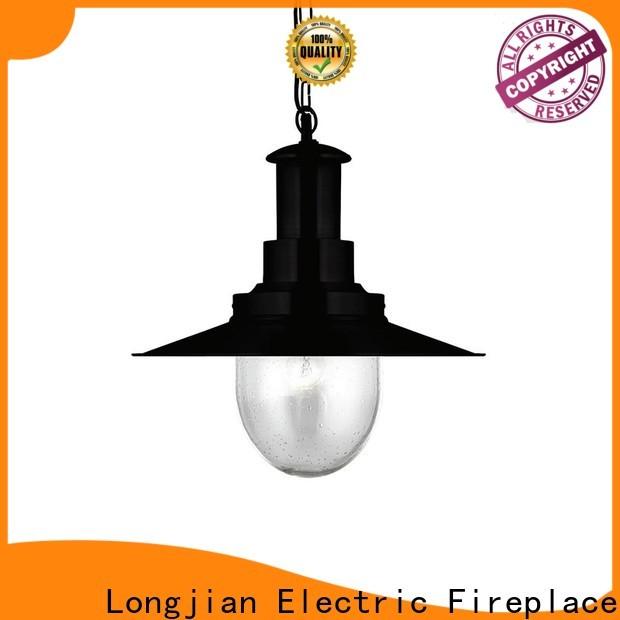 Longjian clear modern pendant lighting equipment for garden
