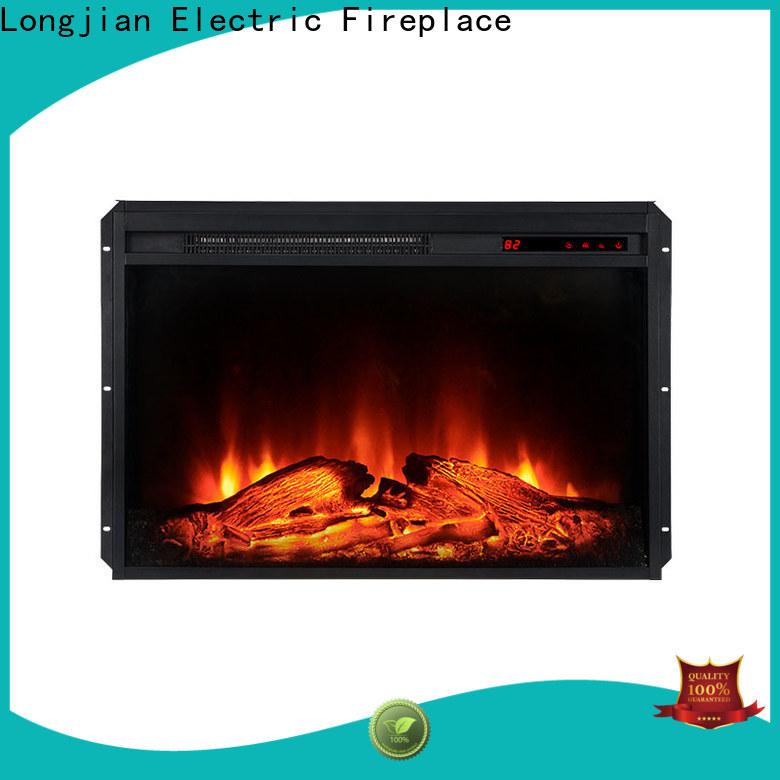 Longjian efficiency inset electric fires China for balcony