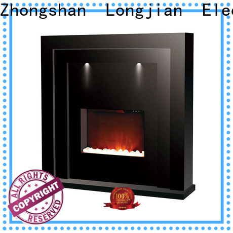 Longjian mantel electric stove fire suites package for kitchen