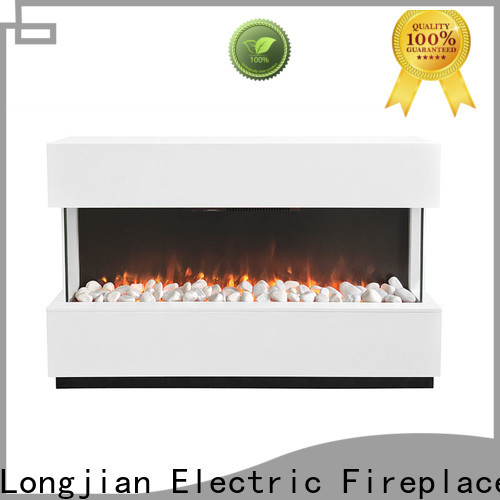 Longjian first-rate Electric Fireplace Suites long-term-use for bathroom