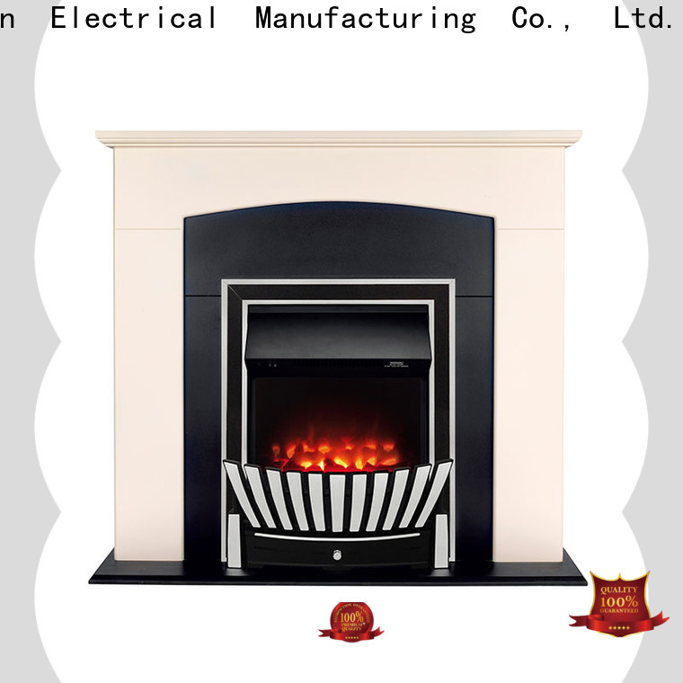 Longjian nordic inset electric fires effectively for kitchen
