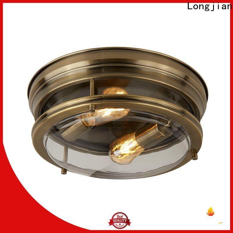 Longjian 350mm semi flush light sensing for dining room