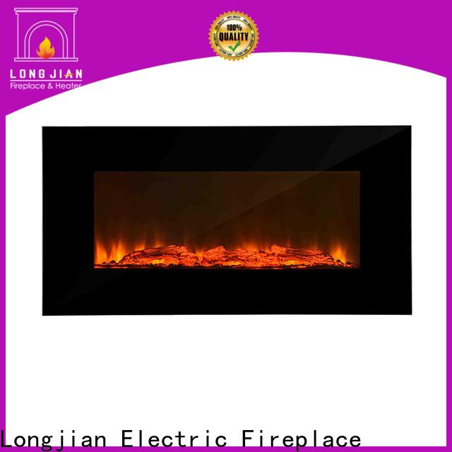 Longjian unique wall mount electric fireplace anticipation for toilet
