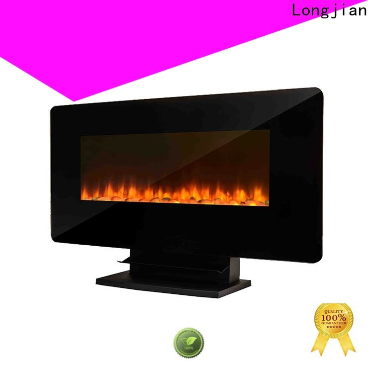 Longjian supernacular modern electric fires wall mounted anticipation for toilet