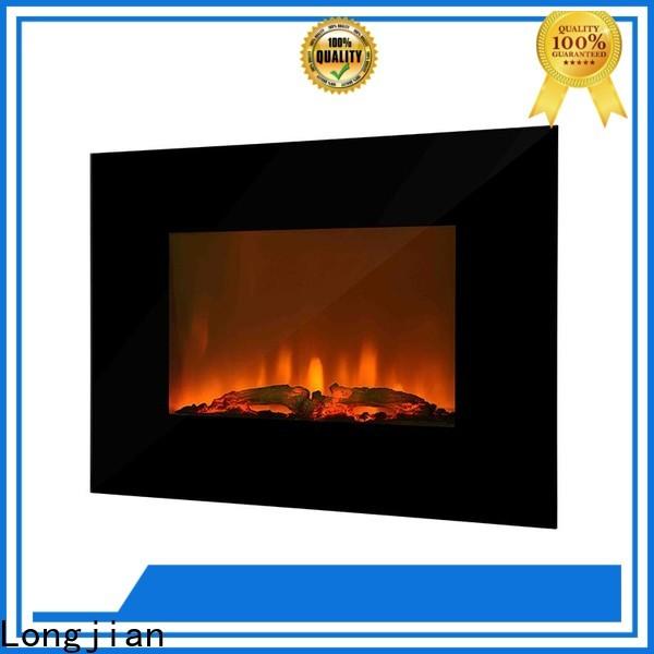 Longjian awesome wall mount fireplace heater conjunction for shorelines
