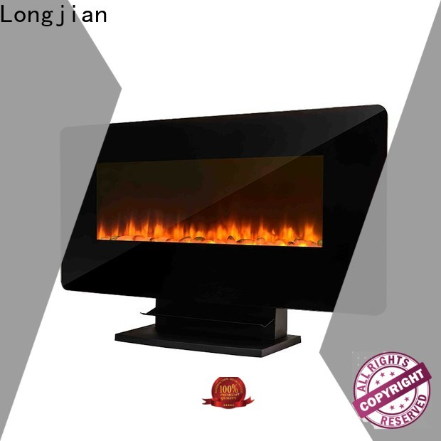 Longjian unique wall mounted fireplace solutions for shorelines