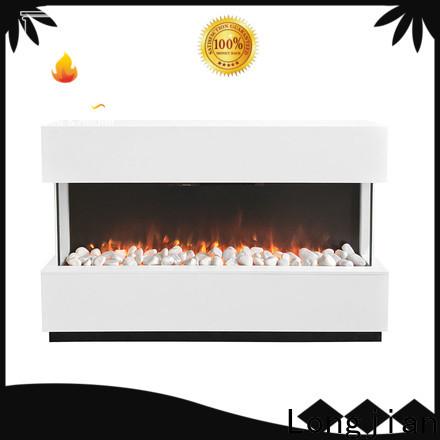 Longjian reasonable electric fireplace suites sensing for balcony